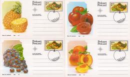 South Africa - 1982 Export Fruit Postcard Set (o) - Landbouw