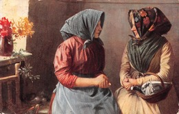 Deux Femmes Avec Panier - Femmes