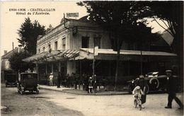CPA CHATELAILLON - Hotel De L'Arrivée (480896) - Châtelaillon-Plage