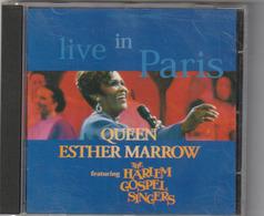 CD - Live In Paris - QUEEN ESTHER MARROW - The Harlem Gospel Singers - Sonstige
