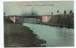 Baconfoy - Le Pont Et L'Ourthe à Ortheuville - Duparque N°6 - Colorisée - Tenneville