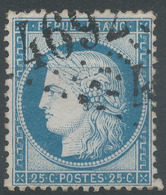 Lot N°50319  Variété/n°60, Oblit GC 4692 Baixas, Pyrénées-Orientales (65), Ind 13, Aprés A De FRANC - 1871-1875 Ceres
