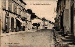CPA St-PORCHAIRE - Rue - Scene (480862) - Sonstige Gemeinden