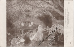 LA TOUCHE Gaston(1854  1913)Peintre Francais  - LA TENTATION DE ST ANTOINE -   Edition A. NOYER De Paris  N° 1356 - Malerei & Gemälde