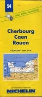 5 Cartes Routières Michelin N°54/71/78/240/245 - Cartes Routières
