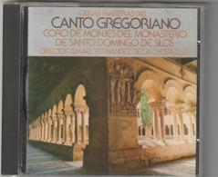 CD -CANTO GREGORIANO - CORO MONJES MONASTERIO SANTO DOMINGO SILOS - Sonstige