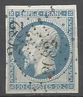 FRANCE - Oblitération Petits Chiffres LP 2082 MONTEREAU (Seine & Marne) - Marcofilie (losse Zegels)