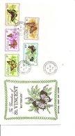 Papillons ( FDC Des Grenadines De Saint-Vincent De 1975 à Voir) - Papillons