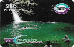 Trinidad & Tobago - TSTT (Prepaid) - Blue Basin, 30$, 2000, 75.000ex, Used - Trinité & Tobago