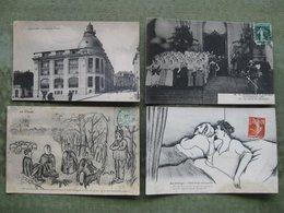 GRAND LOT DE 1200 CPA / CPSM MAJORITÉ FRANCE ( Voir Déscriptif & Scans ) - 500 Postkaarten Min.