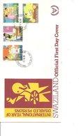 Handicaps - Handicapés ( FDC Du Swaziland De 1981 à Voir) - Handicap