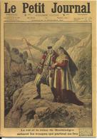 CPM Petit Journal 1915, Le Roi Et La Reine De Montenegro Saluent Les Troupes - Guerre, Militaria - Newspaper, France - Montenegro