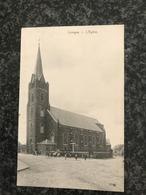 Luingne ( Mouscron) : L'Eglise - Animee - Moeskroen