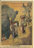 CPM Petit Journal 1912, Au Montenegro Les Femmes Sur Les Sentiers De Montagne - Guerre, Militaria - Newspaper, France - Montenegro