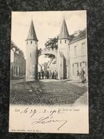 Loo - Lo : Porte De L'Ouest  Animee 1902 - Lo-Reninge