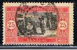 SÉNÉGAL 101 // YVERT 75 // 1922-26 - Usados