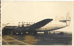 Photo Avion Cargo Militaire Quadrimoteur, Maroc 1958 - 1946-....: Ere Moderne