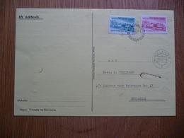 (ZW) POSTCARD NEDERLANDS-NIEUW-GUINEA 1961 SEND TO NEDERLAND SEE SCAN. - FDC