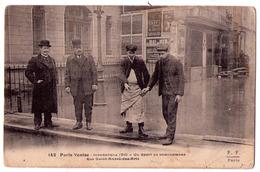 5448 - Paris Venise - Un Sport De Circonstance - ( 6e ) Rue Saint-André Des Arts - L.L. N°142 - - Überschwemmung 1910