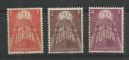 LUXEMBOURG - MNH - Europa-CEPT - Architecture - 1957 - 1957