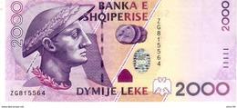 Albania P.74 2000 Lek 2007 A-unc - Albanië