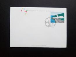 MADEIRA MI-NR. 211 FDC FLUGHAFEN VON MADEIRA 2000 - Madeira