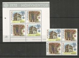 PORTUGAL - MNH - Europa - CEPT - Architecture - 1978 - Europa-CEPT