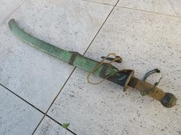 TRES BEAU SABRE CHINOIS JUS DE GRENIER - Knives/Swords