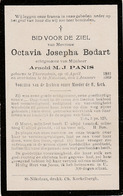 Sint-Niklaas, Thorembais, 1909, Octavia Bodart, Panis - Images Religieuses
