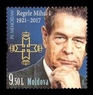 Moldova 2018 Mih. 1074 Last King Of Romania Michael I MNH ** - Moldavia