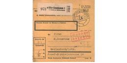 Allemagne  -  Colis Postal  - De Höhr - Grenzhausen 1 -  5/2/1943 - Allemagne