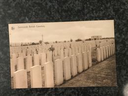 Zonnebeke- Zantvoorde Bij Ieper - Zantvoorde British Cemetery - Zonnebeke