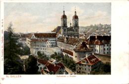 St. Gallen - Kathedrale U. Kloster (2) * 1905 - SG St. Gallen