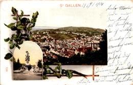 St. Gallen - 2 Bilder (124) * 29. 9. 1904 - SG St. Gallen