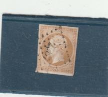 **** FRANCE ***  Napoléon III 10cts Bistre  Empire N° 13A Côte 20€  - Oblitération Losange - 1853-1860 Napoleon III