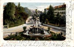 St. Gallen - Broder Brunnen (19197) * 15. 9. 1902 - SG St. Gallen