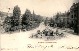 St. Gallen - Broderbrunnen (2877) * 30. 12. 1902 - SG St. Gallen