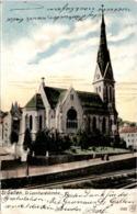 St. Gallen - St. Leonhardskirche (1545) * 29. 11. 1904 - SG St. Gallen