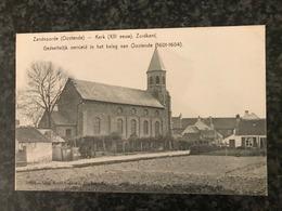 Zandvoorde (Oostende) * Kerk (XIII Eeuw) Zuidkant - Oostende