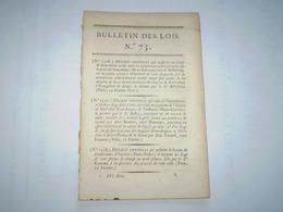 Lois 1806: Napoléon: Fête De St Napoléon Et Assomption.Sépulture Des Empereurs.Police Générale.Droit Sur Tabac étranger - Décrets & Lois