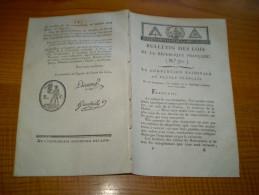 Lois An III :Déclaration De La Convention Nationale Sur Héritiers Des Crimes De Robespierre Avec Lecture Dans Les écoles - Decreti & Leggi