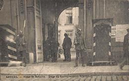 Anvers - Hôtel St Antoine - Siège Du Gouvenement Allemand (Edit. L D, Animatie) - Antwerpen