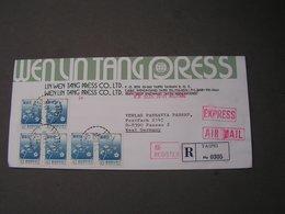 Taiwan , Com. Cv. 1982  Express - Briefe U. Dokumente