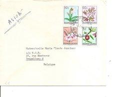 Ruanda-Urundi ( Lettre Par Avion De 1960 De Usumbura Vers La Belgique à Voir) - Ruanda-Urundi