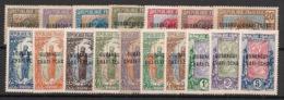 Oubangui - 1915-18 - N°Yv. 1 à 17 - Série Complète - Neuf * / MH VF - Ungebraucht