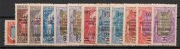 Oubangui - 1925-27 - N°Yv. 63 à 74 - Série Complète - Neuf Luxe ** / MNH / Postfrisch - Oubangui (1915-1936)