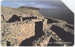 BOLIVIA A-063 Magnetic Entel - Culture, Ruins - Used - Bolivië