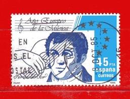 (1Us) )  SPAGNA °- 1985 - Anno Europeo Della Musica. Unif. 2422. - 1981-90 Gebraucht