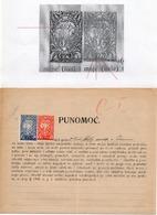 1920 VERIGARI, YUGOSLAVIA, CHAIN BREAKERS, ERROR ON 2 KRUNA BLUE STAMP WITH CIGAR, POSTAL STAMP AS REVENUE - 1919-1929 Kingdom Of Serbs, Croats And Slovenes
