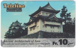 SWITZERLAND C-785 Prepaid Teleline - Landmarks Of Asia - Used - Suiza